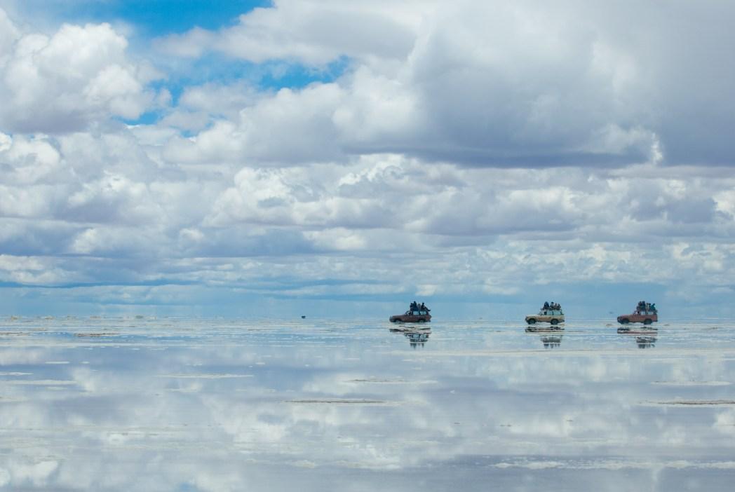 Salar de Uyuni Bolivya