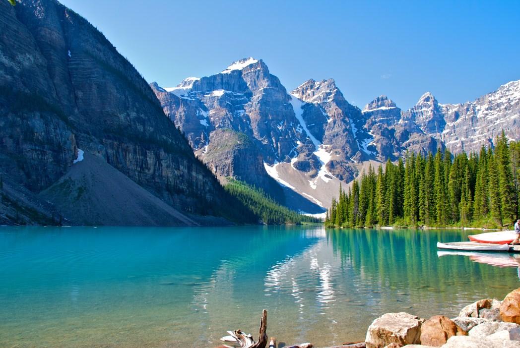 Moraine Gölü Kanada