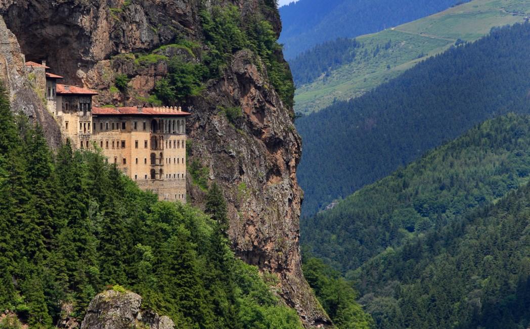 Türkiye Manzaraları Sümela Manastırı Trabzon