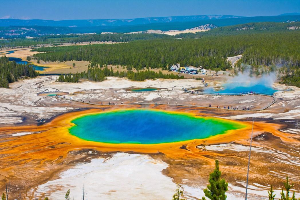 Yellowstone Ulusal Parkı Amerika ABD