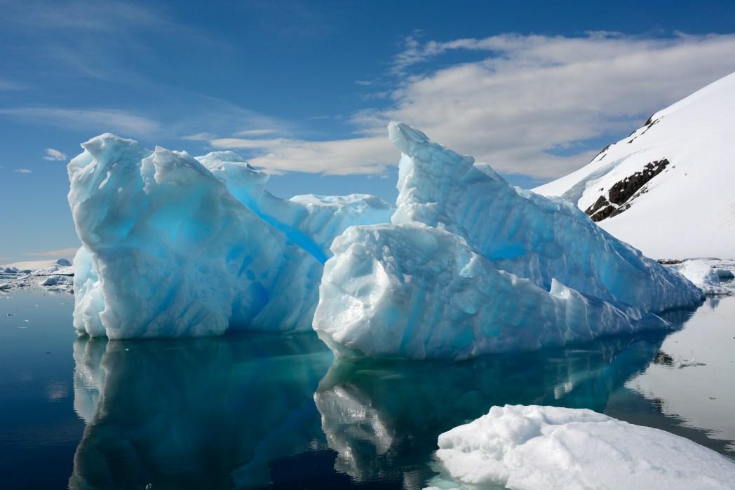Antarktika Çizgili Buzullar