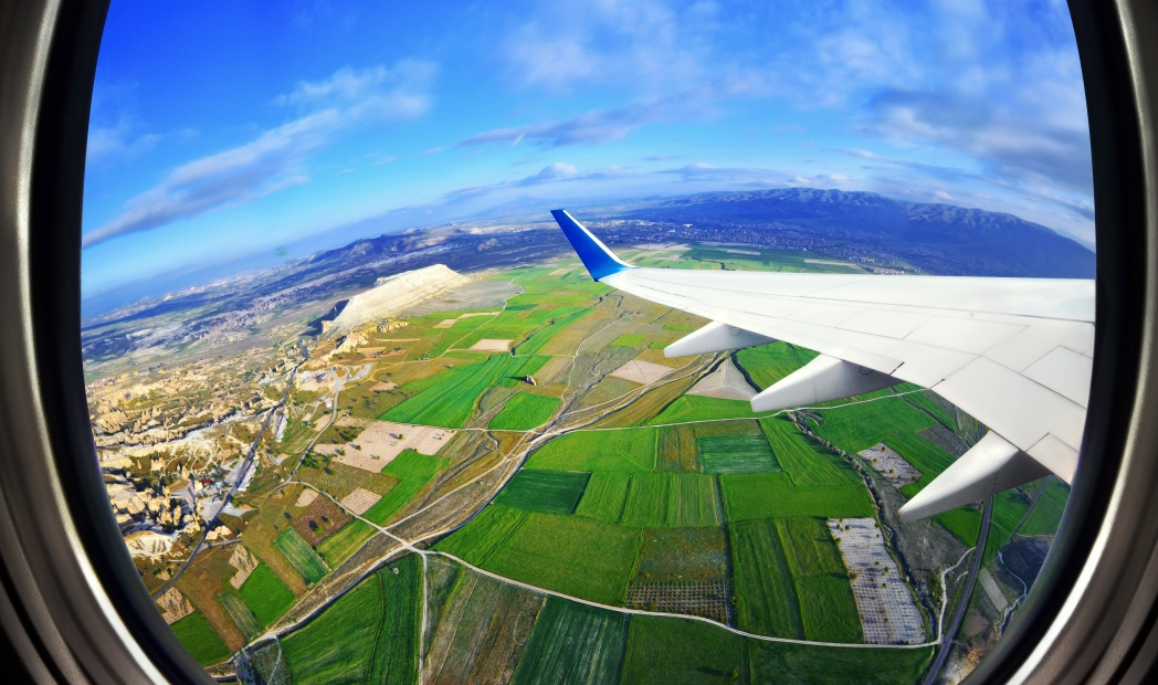 Uçaktan manzara