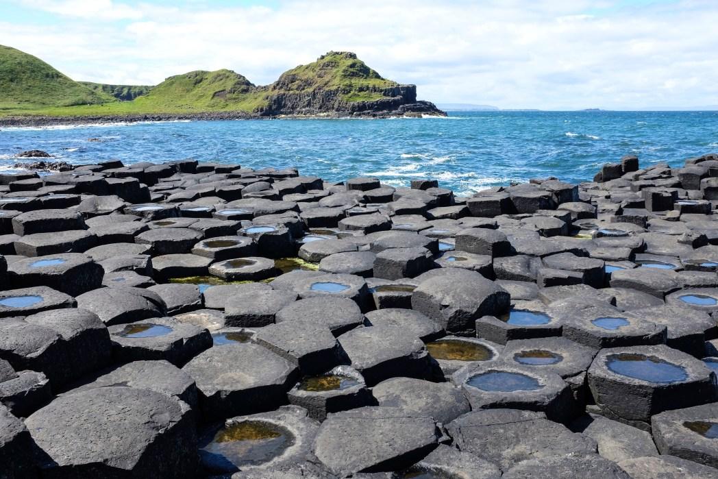 Devler Kaldırımı Simetrik Taşlar Kuzey İrlanda