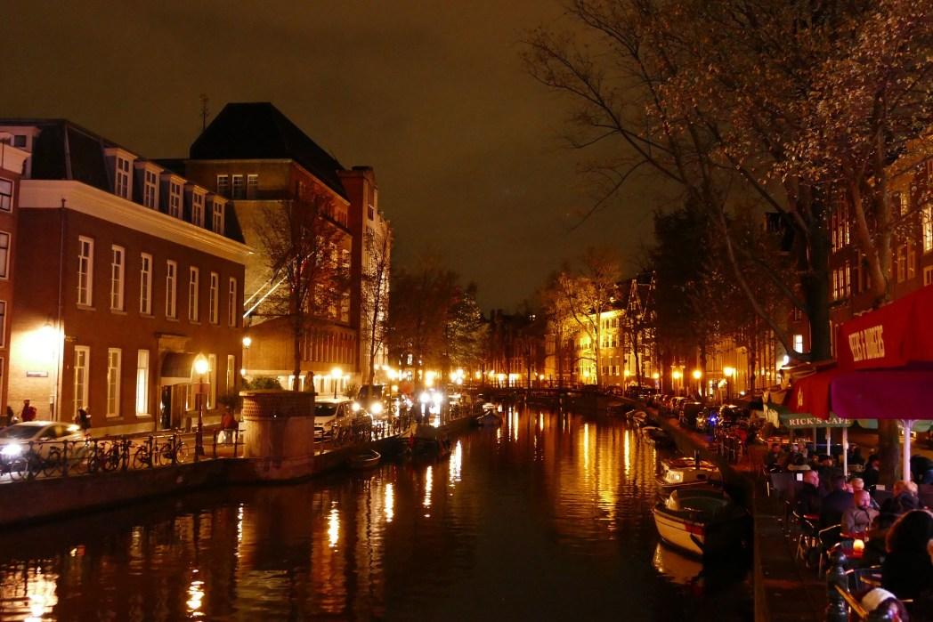 Amsterdam'da Romantik Tatil