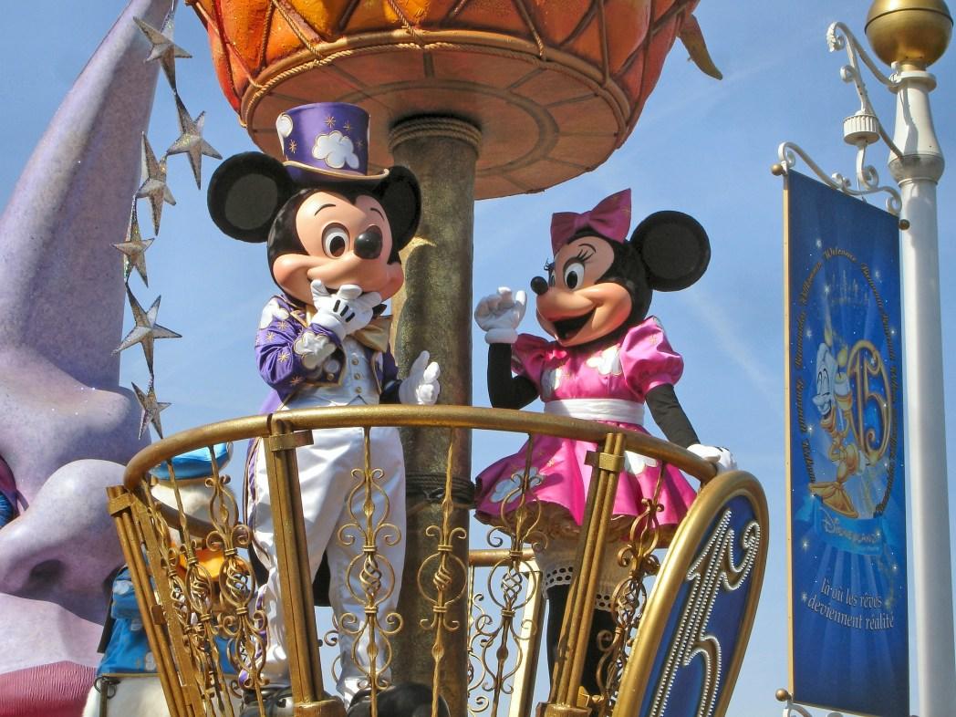 Paris Disneyland Mickey Mouse - Miki Fare