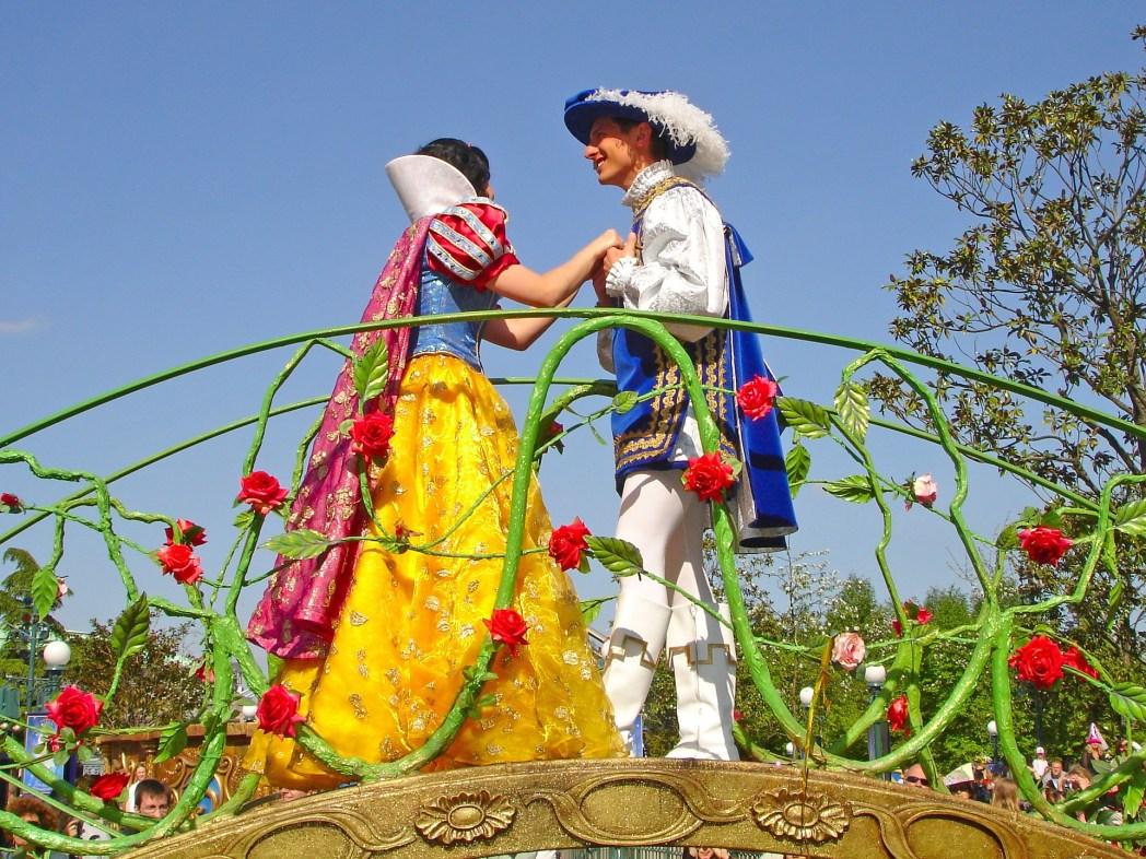 Paris Disneyland Pamuk Prenses