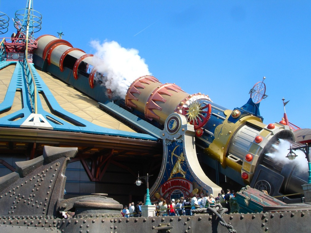 Paris Disneyland Space Mountain
